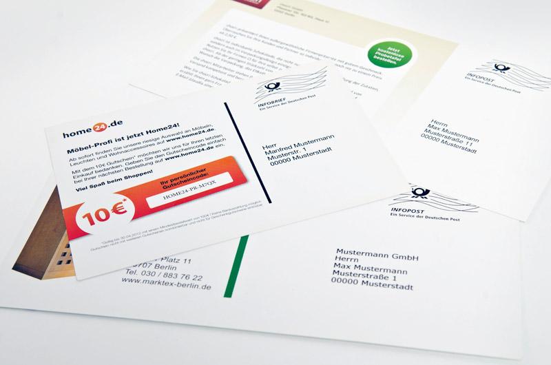 Postkarten personalisieren