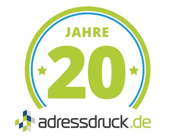 20 Jahre adressdruck.de