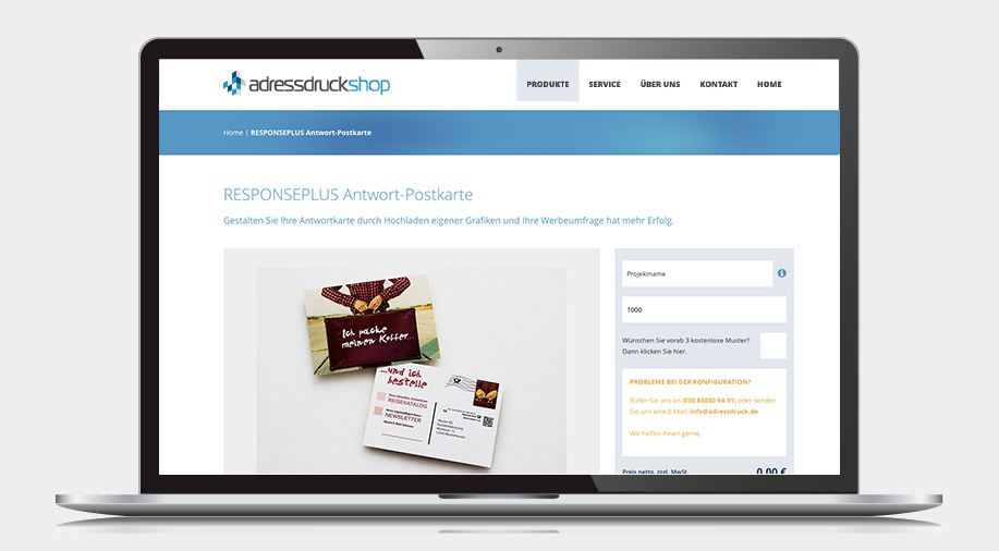 adressdruck-onlineshop-responseplus-postkarte